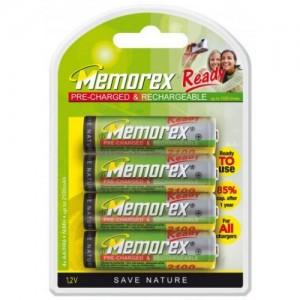 Аккумуляторы АА Memorex Ready 2100 mAh