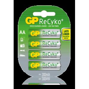 Аккумуляторы АА GP Recyko+ 2000 mAh
