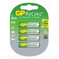 Аккумуляторы ААА GP Recyko+ 800 mAh